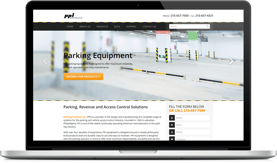 Parking Products Inc.